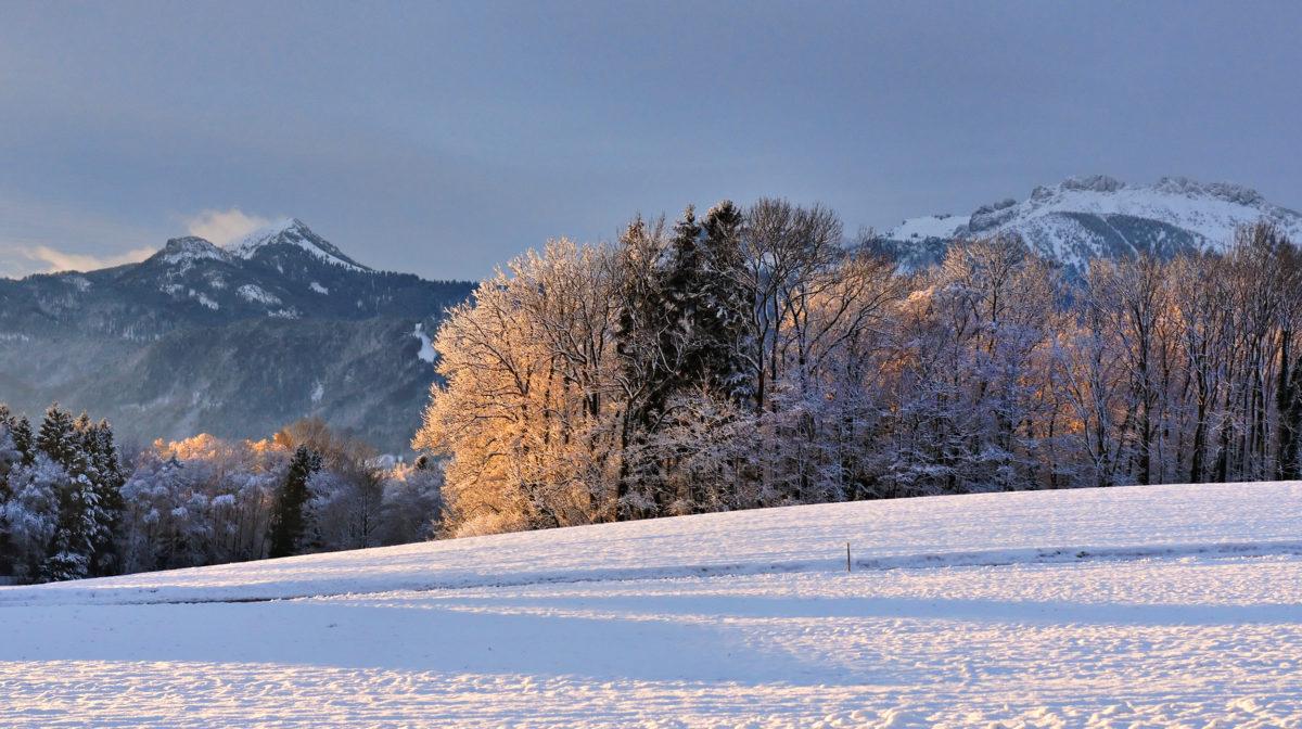 Prien am Chiemsee im Winter