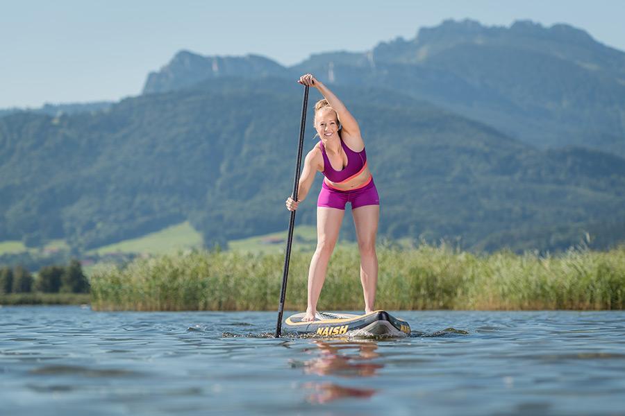 Wassersport auf dem Chiemsee