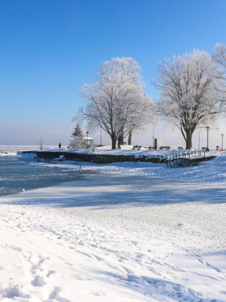 Winter in Prien am Chiemsee