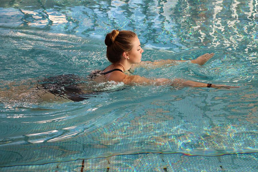 Schwimmen im Prienavera Erlebnisbad