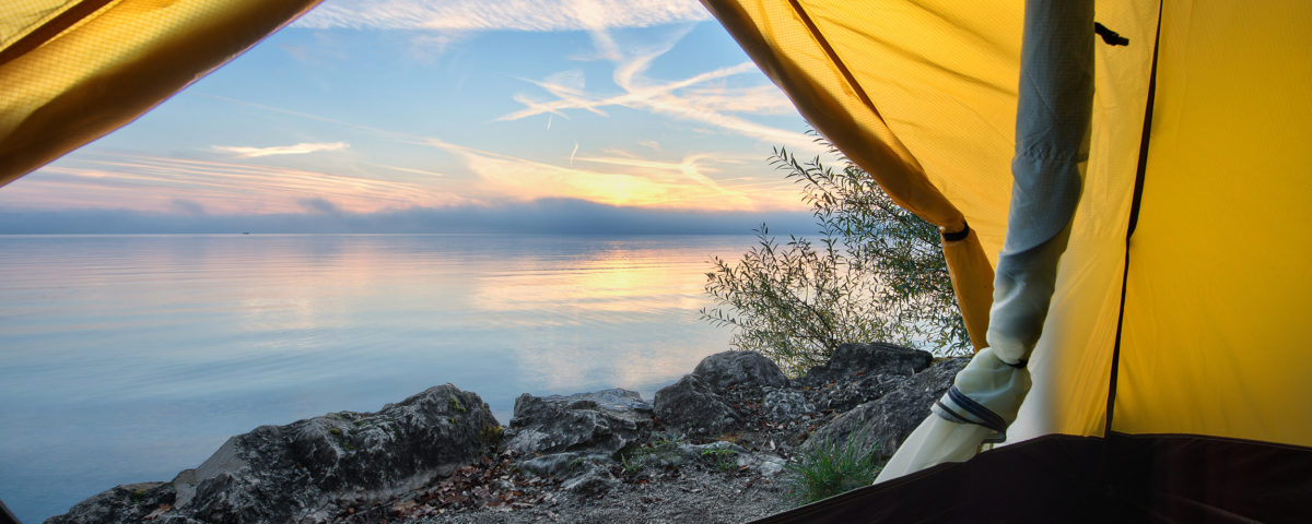 Camping am Chiemsee