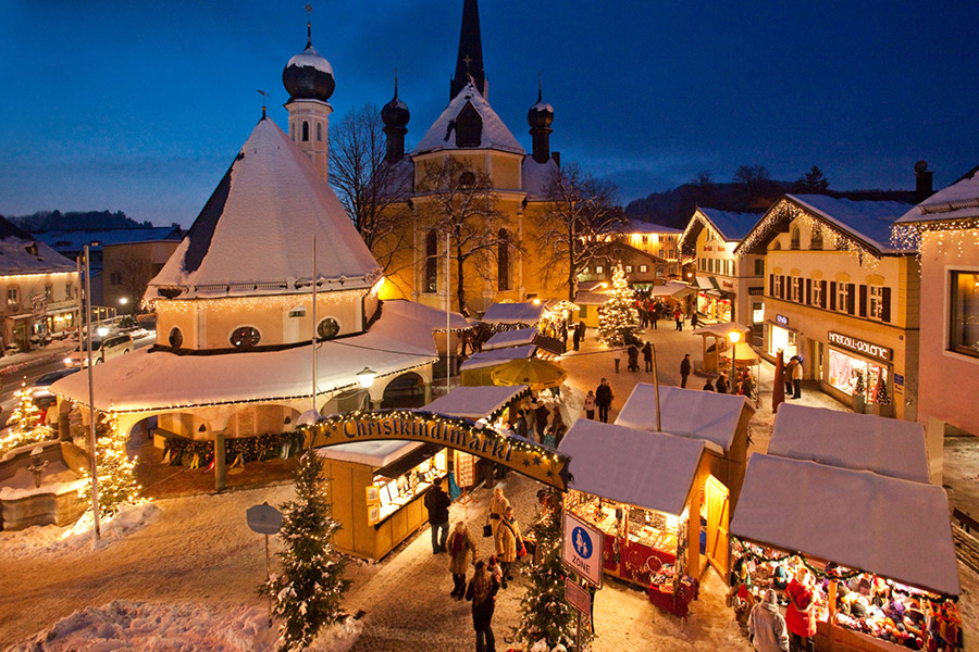Christkindlmarkt in Prien am Chiemsee