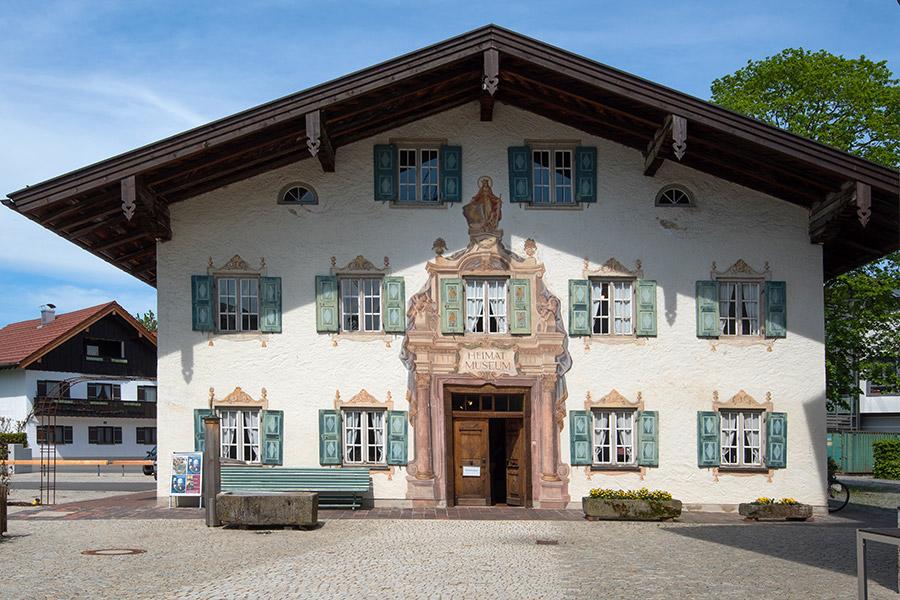 Heimatmuseum Prien, Fassade