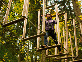 Kletterwald in Prien am Chiemsee