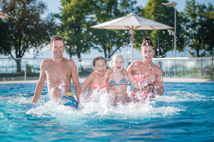 Familienspaß im Prienavera Erlebnisbad