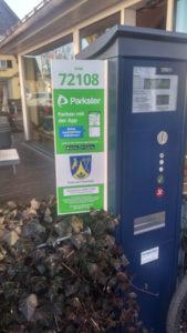 Parkster App – Parkgebuehren mit dem Handy zahlen in Prien
