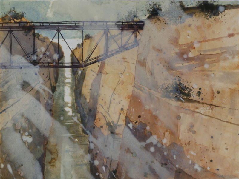Schmetterer 03 - Kanal von Korinth 46x315 cm_web