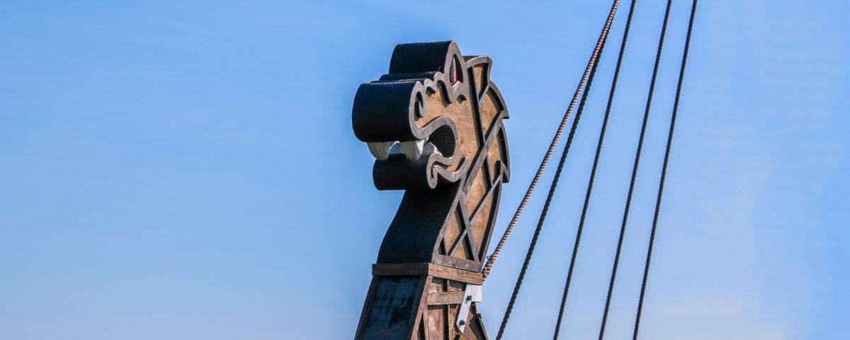 Wikingerschiff Freya auf dem Chiemsee