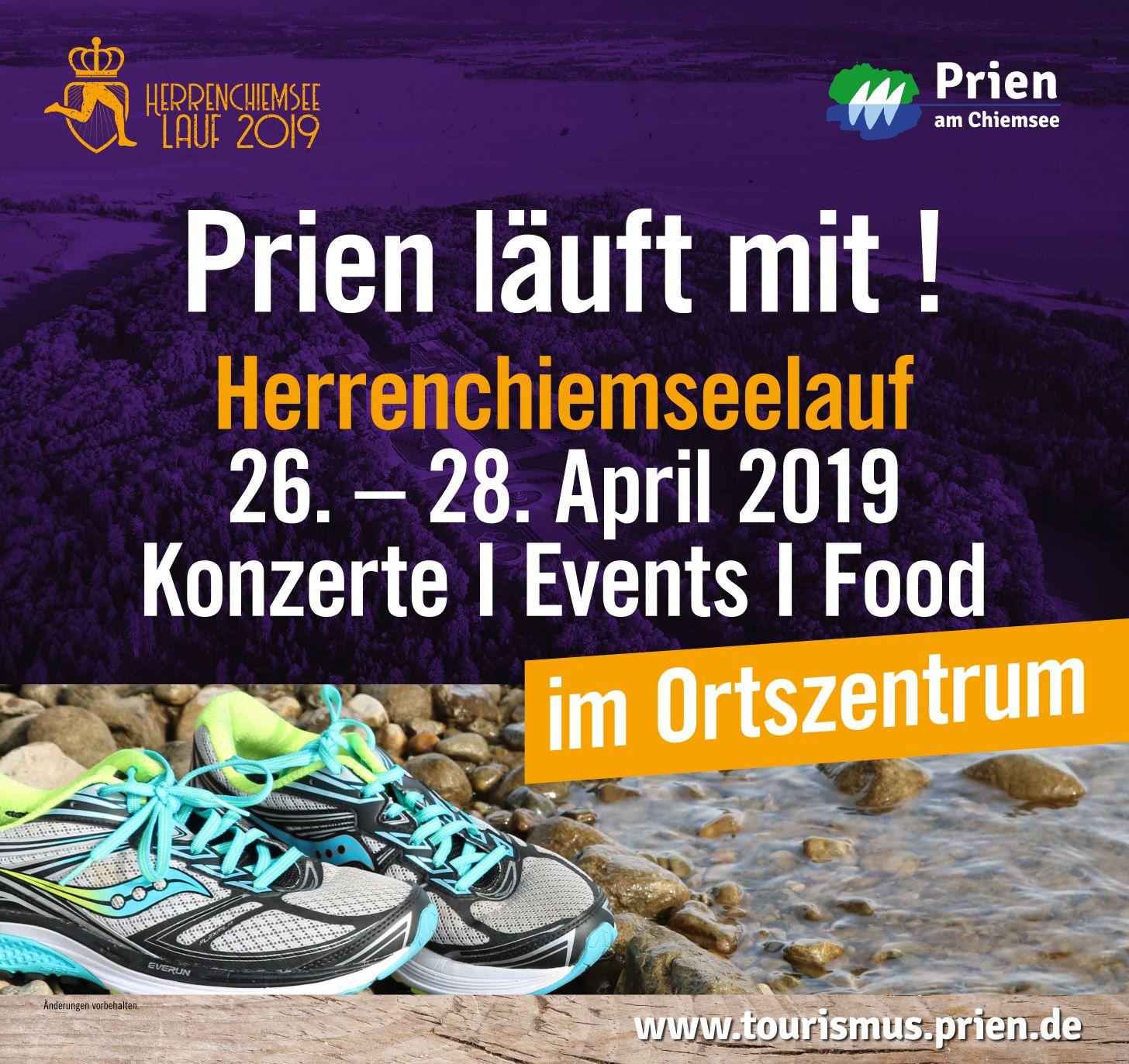 Herrenchiemseelauf Mitmach-Programm in Prien