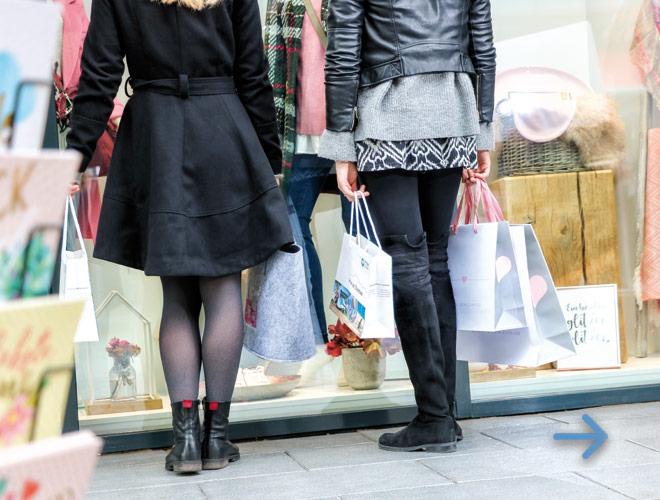Einkaufen in Prien