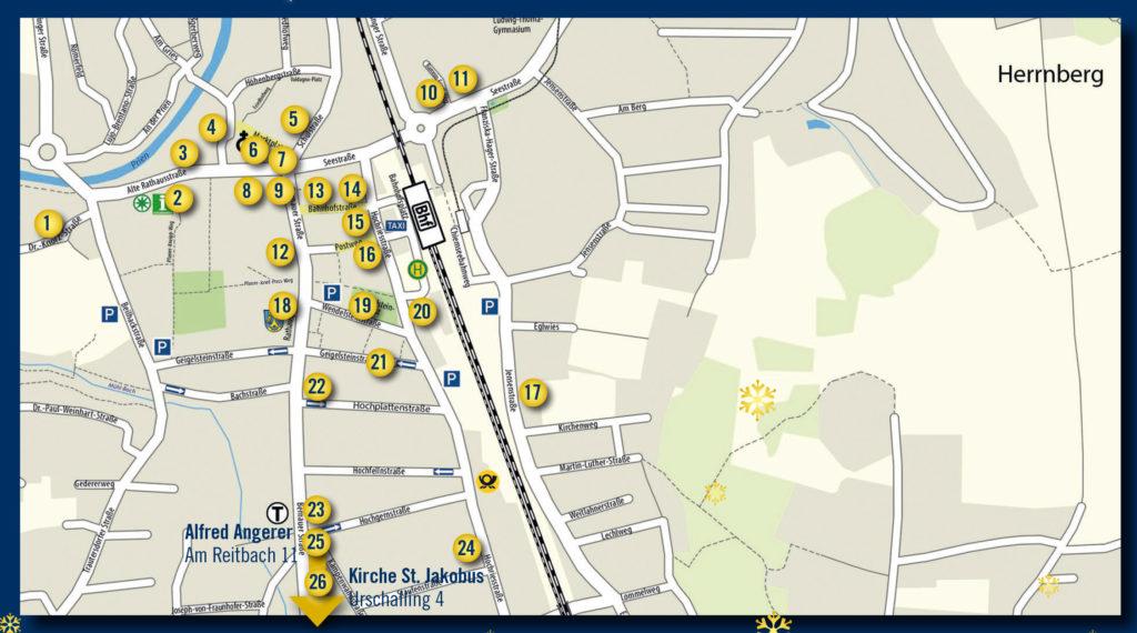 Prien Am Chiemsee Karte.Priener Christkindlmarkt Marktplatz In Prien Am Chiemsee