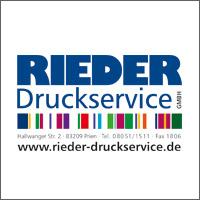 Logo Rieder Druckservice