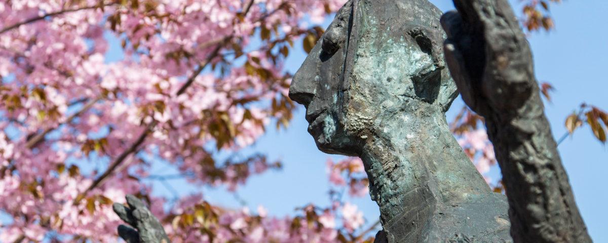 Heinrich Kirchner Bronzeplastik