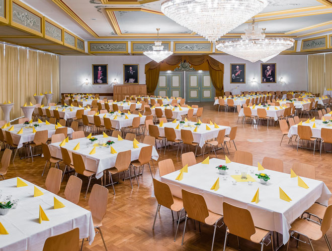 Feiern und Tagen im König Ludwig Saal