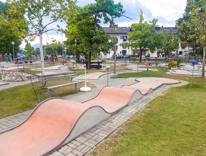Minigolfplatz in Prien am Chiemsee