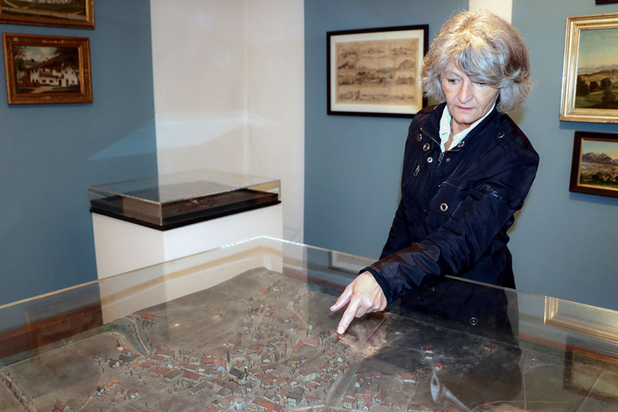 Judith Schmidbauer im Heimatmuseum Prien