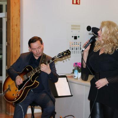Musikalische Begleitung durch Philipp Stauber und Gerti Raym