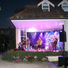 Open-Air-Bühne-Abend
